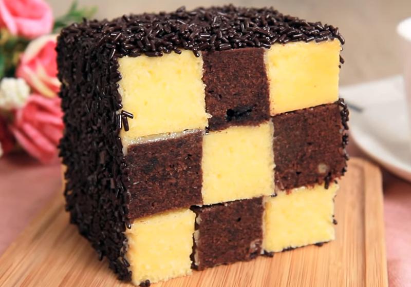 棋格蛋糕(影音)