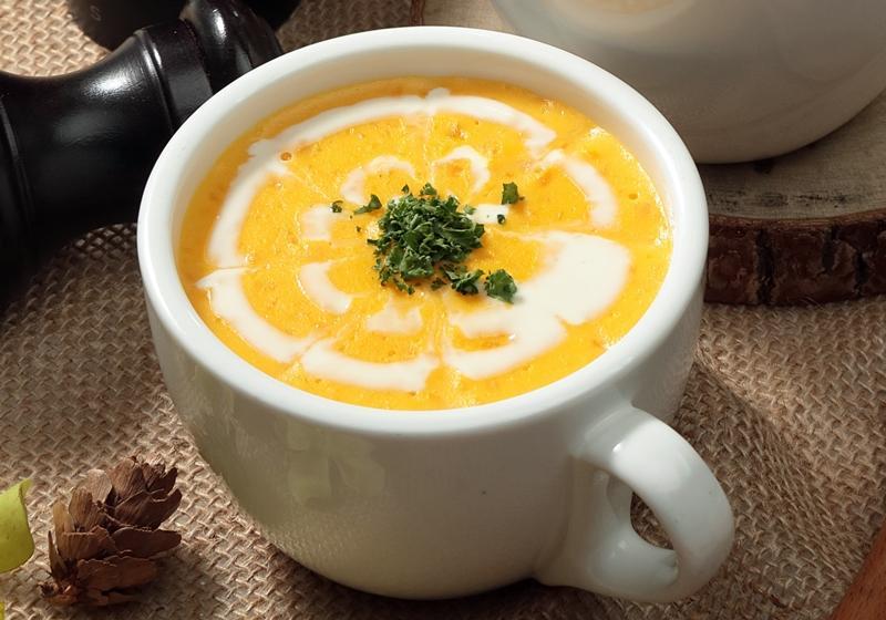 南瓜奶油濃湯