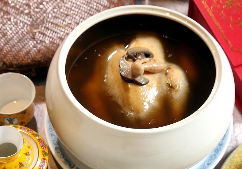 養生麻油雞湯