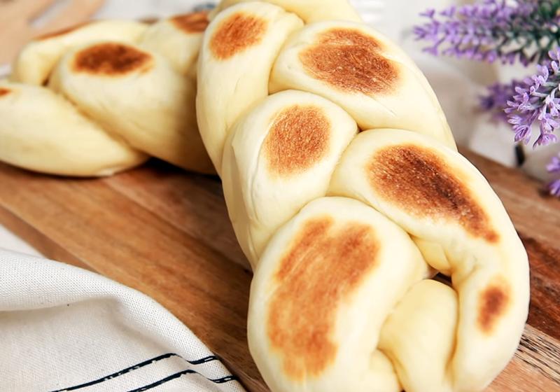 免烤箱辮子麵包(影音)
