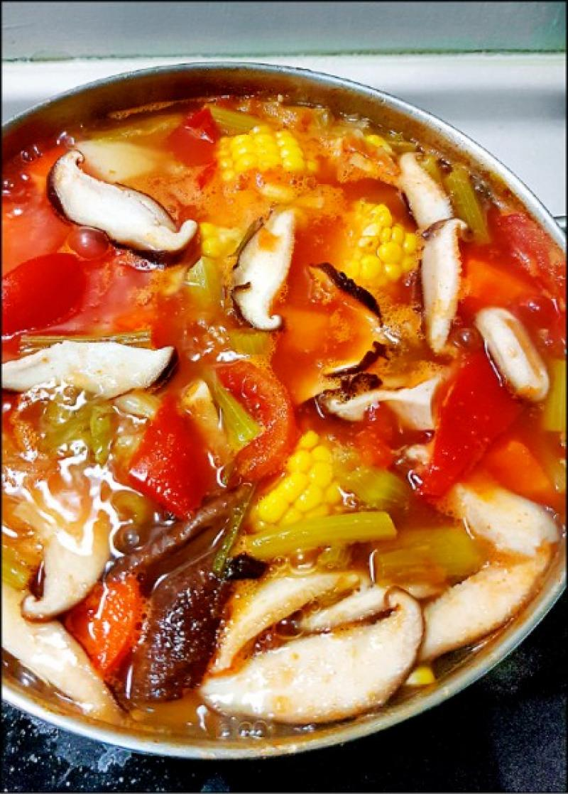 十錦蔬菜濃湯