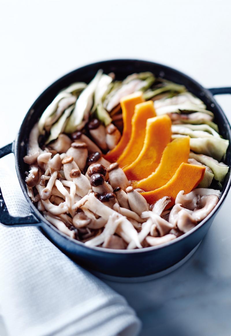 雞肉千層日式火鍋