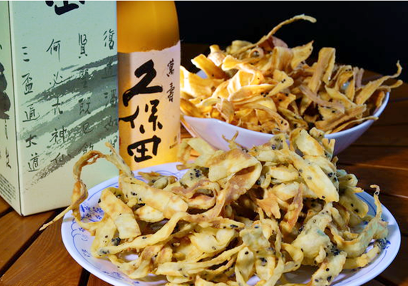 日式炸牛蒡,日劇必備下酒菜簡單做!