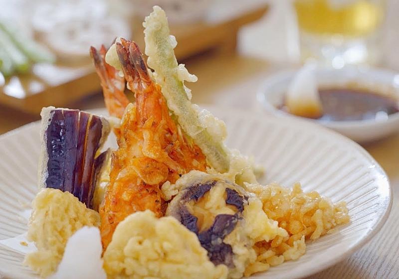 炸蝦天婦羅 (影音)