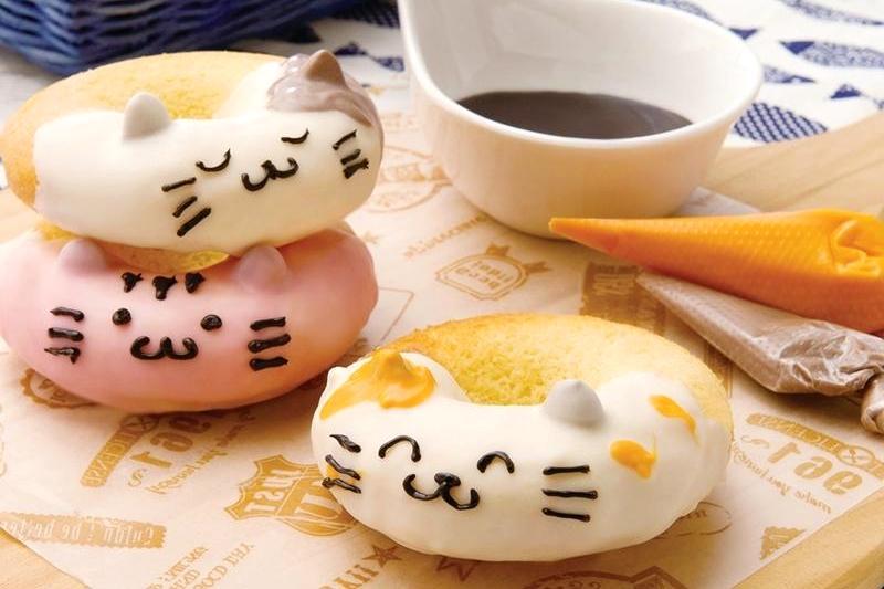 超萌「可愛貓甜甜圈」!夢幻造型甜點DIY