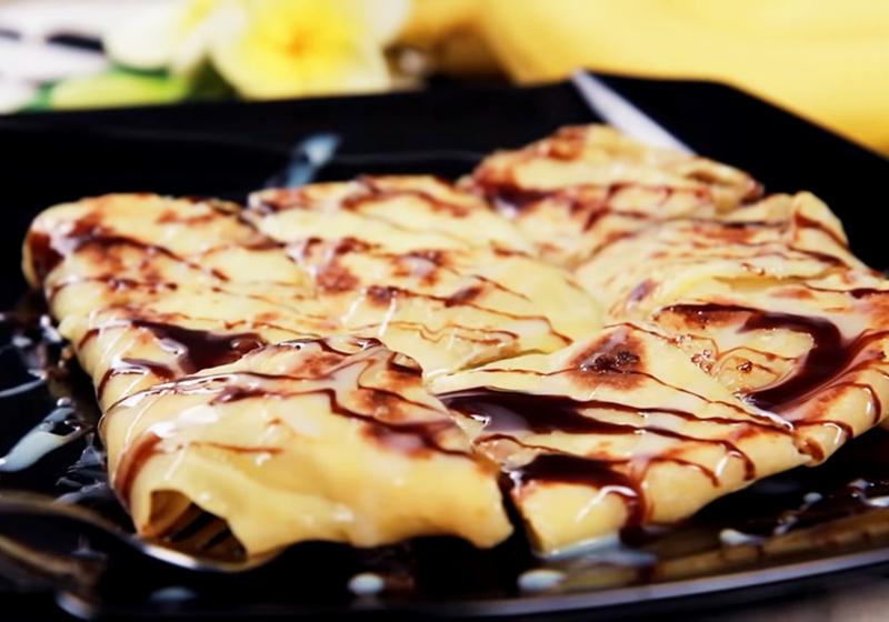 泰式香蕉煎餅 (影音)