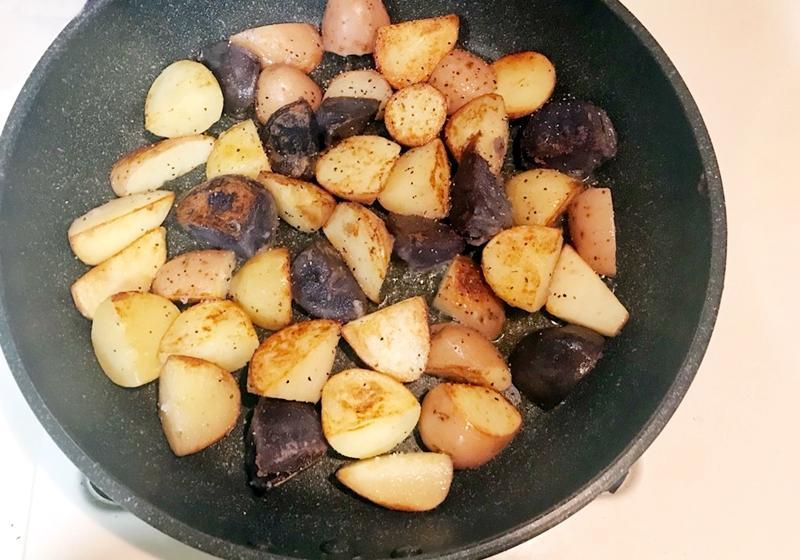 香煎三色馬鈴薯