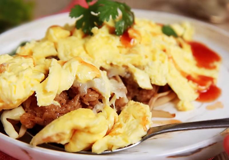 肉粽蛋包飯 (影音)