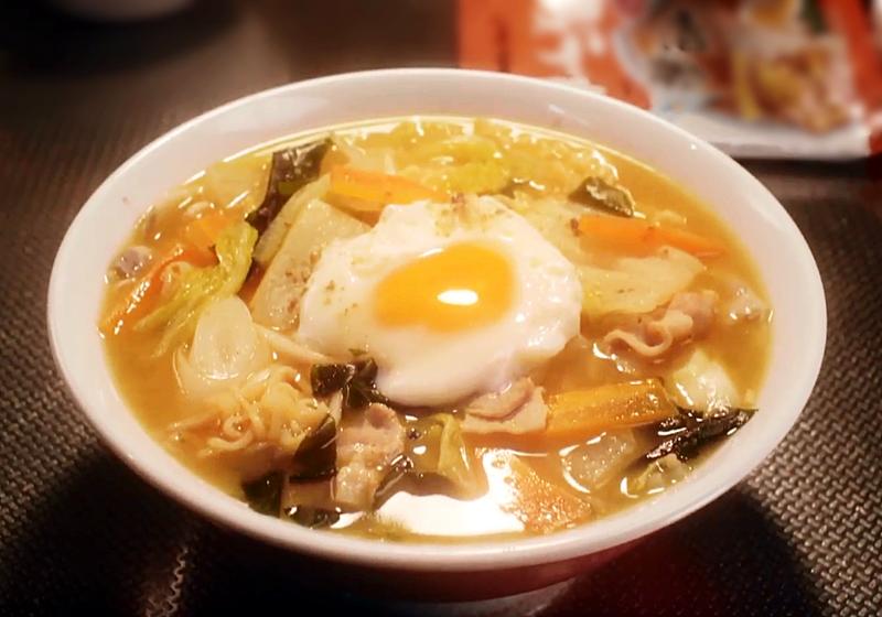 【昨日的美食】料理食譜 6:札幌一番拉麵