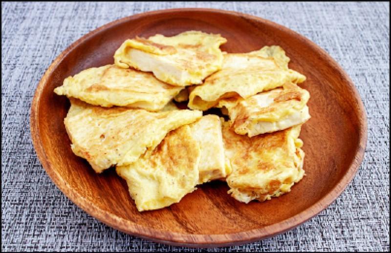 煎蛋香豆腐