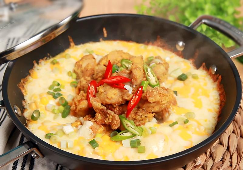 玉米醬起司炸雞 (影音)