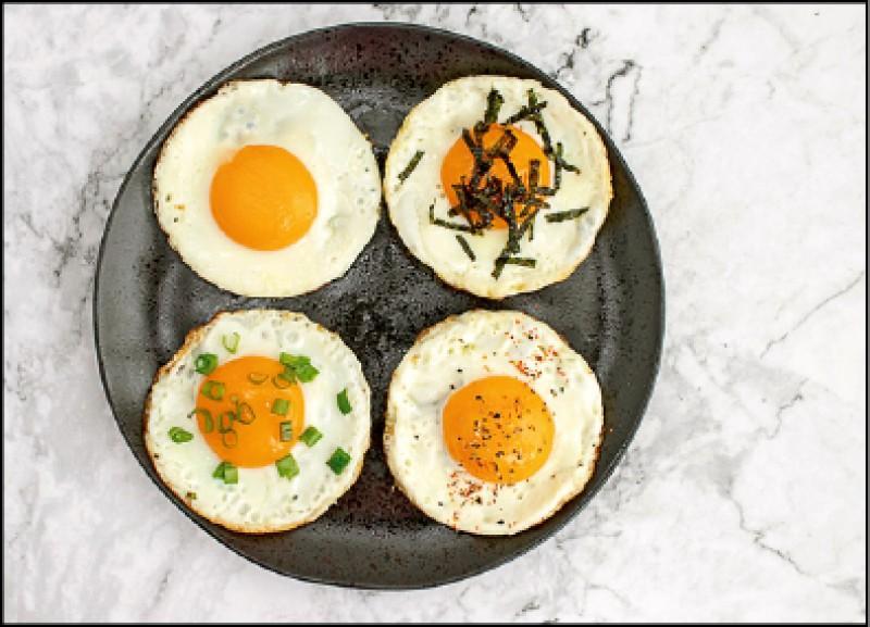 蔥花太陽蛋