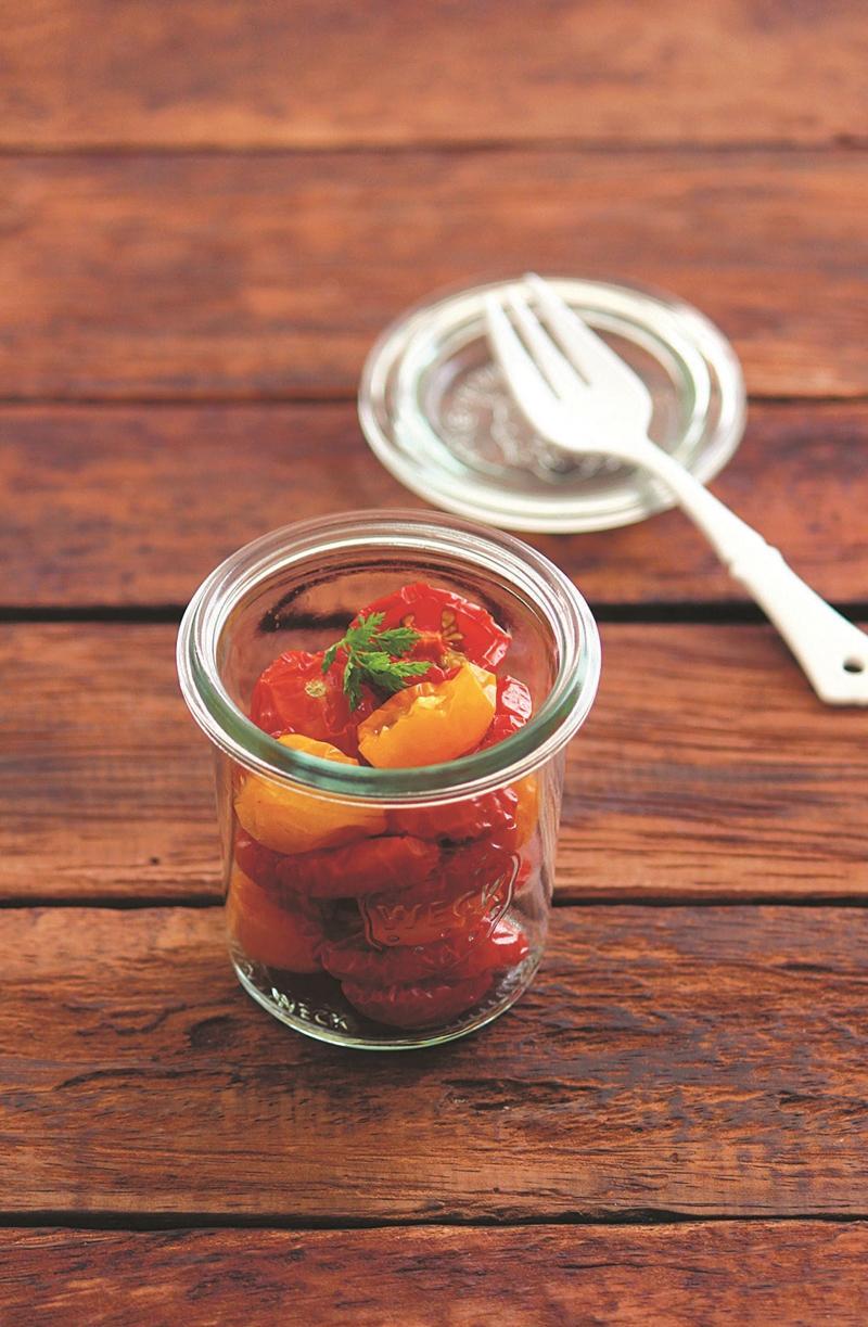 油漬半風乾番茄