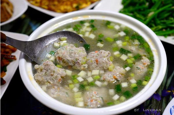 什錦魚丸湯