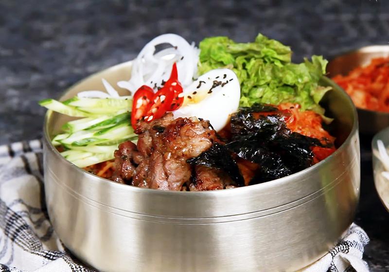 韓式豬肉泡菜冷麵 (影音)