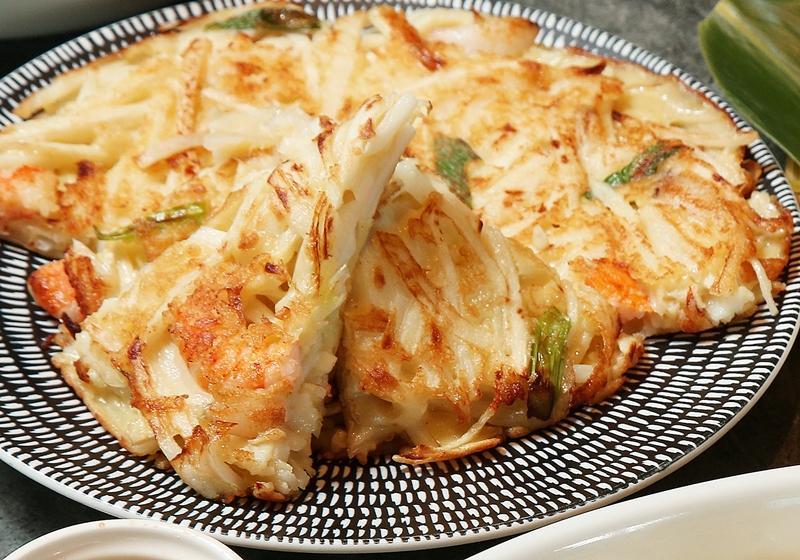 雙鮮竹筍煎餅
