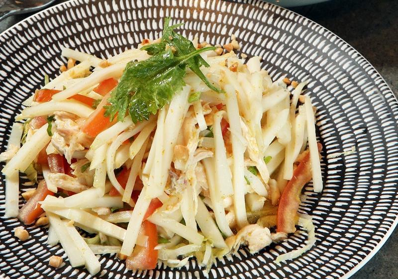 醋拌雞肉竹筍沙拉