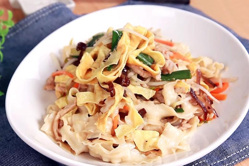 防疫料理輕鬆煮》木須炒麵的「木須」是什麼?