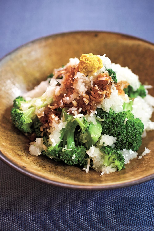 花椰菜涼拌蘿蔔泥