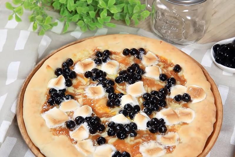 黑糖珍珠披薩DIY!薄脆餅皮 + 焦糖海鹽醬一次學會