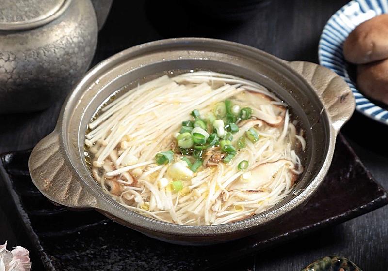 湯煮奶油菇菇