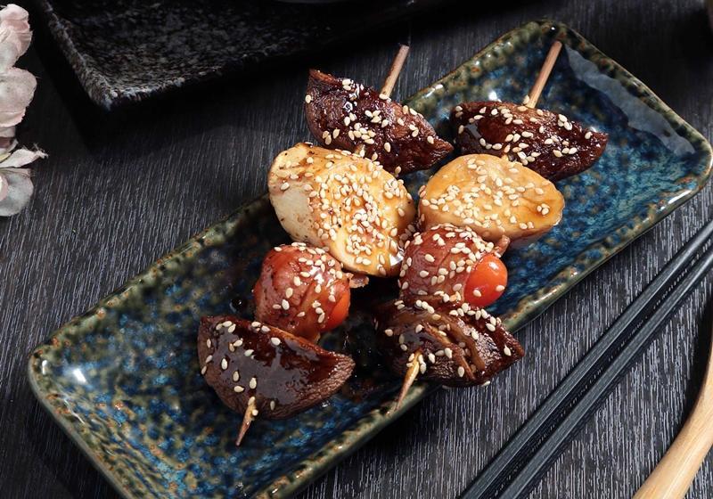 炙燒菇菇串燒