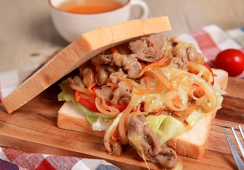 起司烤肉三明治 (影音)