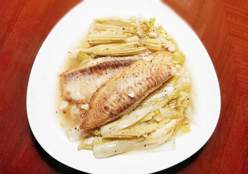 法式嫩煎魚排