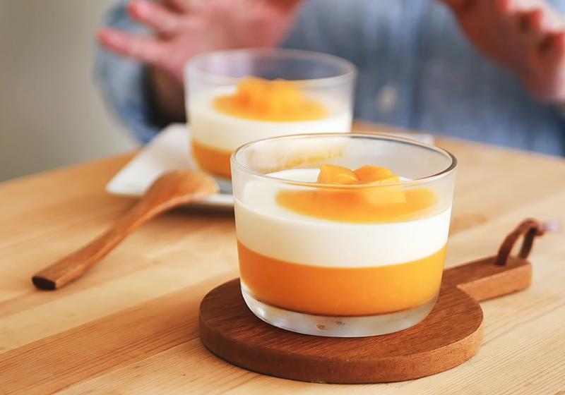 芒果義式奶酪 (影音)