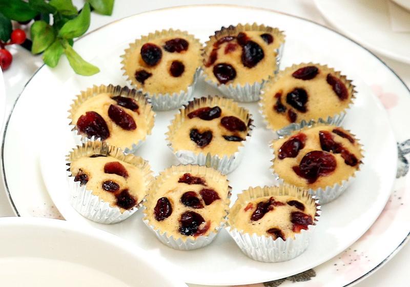 蔓越莓蒸糕