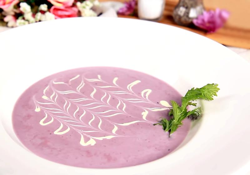 紫薯芋香濃湯 (影音)