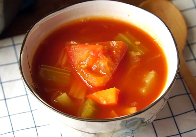 番茄蔬菜湯 (影音)