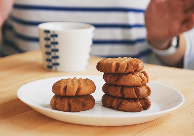 經典美式花生醬餅乾 (影音)