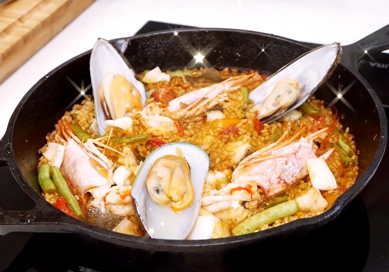 西班牙海鮮燉飯 Spanish Paella (影音)