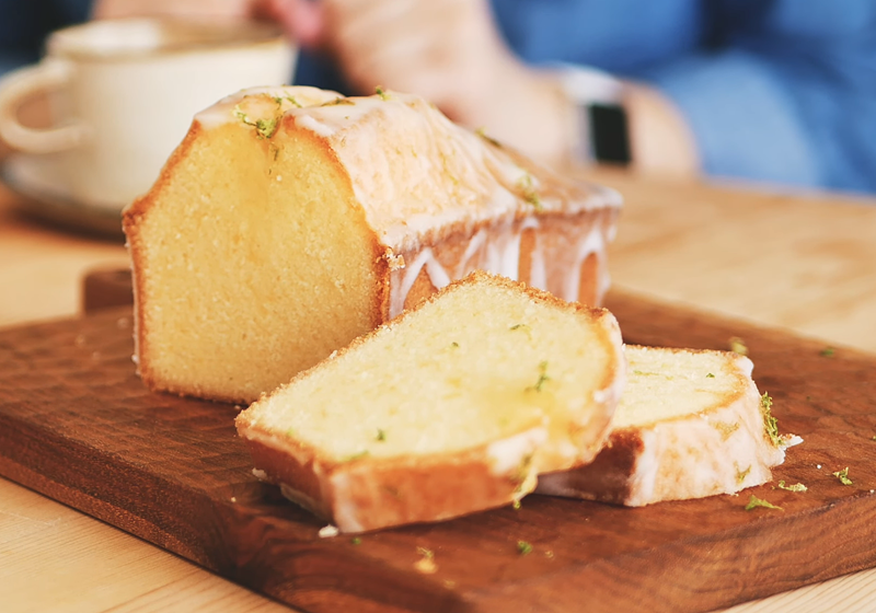 經典檸檬糖霜磅蛋糕 (影音)