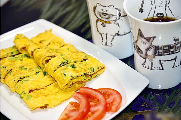 無麵粉~懶人早餐蛋餅