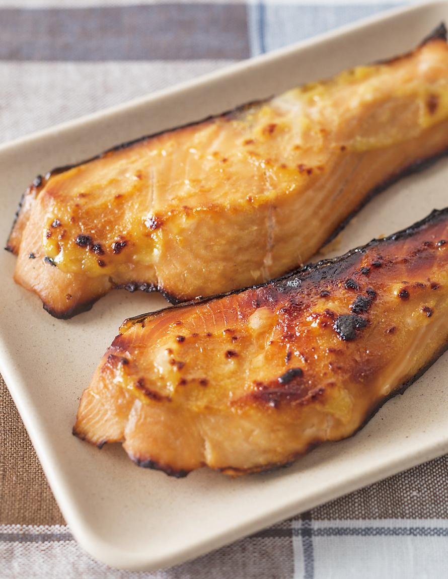 西京味噌燒鮭魚