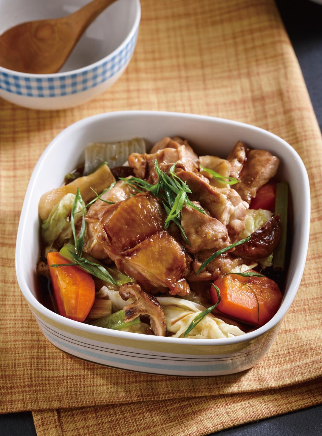 白菜滷雞腿
