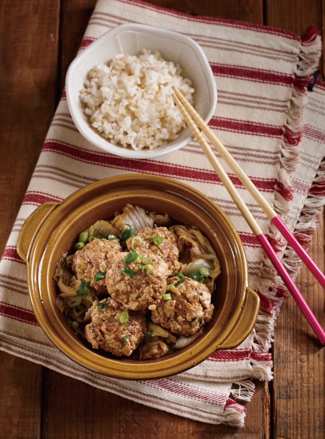 清蒸紅燒豆腐獅子頭