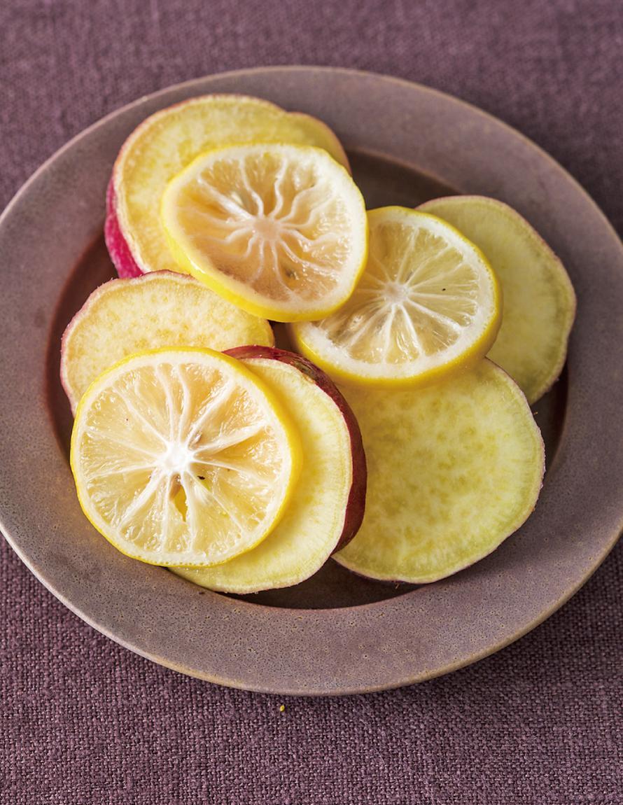 蜂蜜檸檬煮地瓜