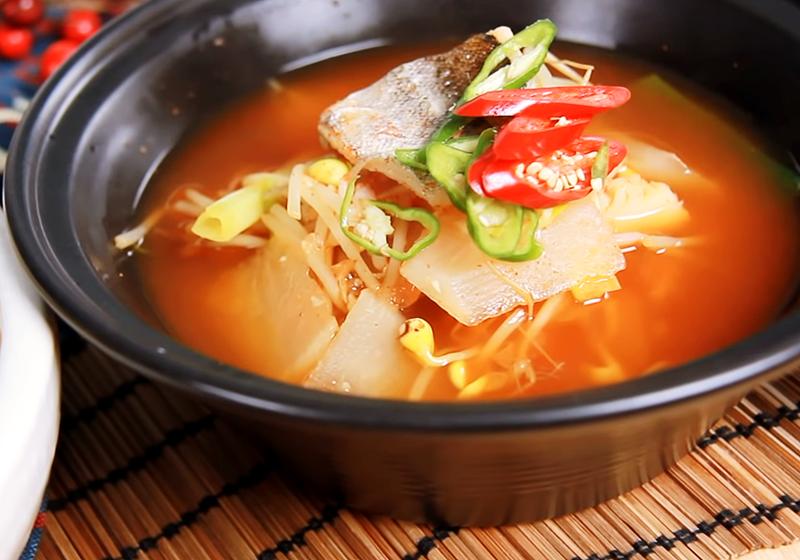 韓式辣魚湯 (影音)