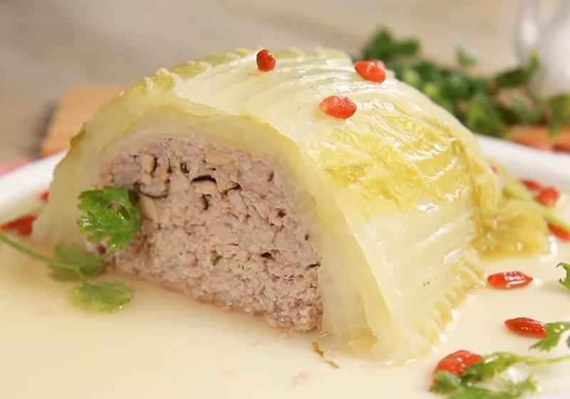 大白菜鑲肉 (影音)