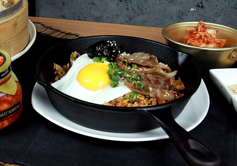 韓式泡菜炒飯 (影音)