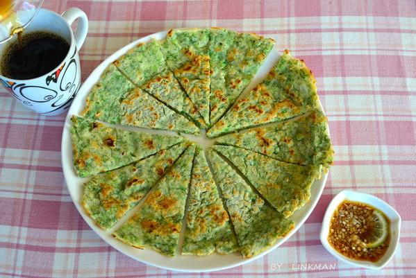 洋蔥茴香煎餅