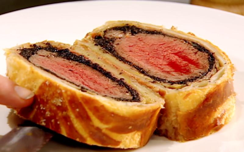 【耶誕食譜】威靈頓牛排 Beef Wellington (影音)