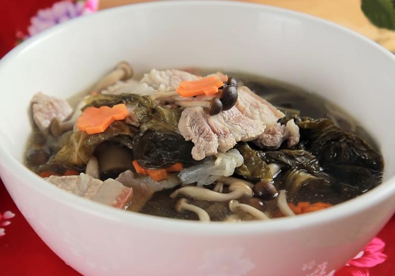 福菜肉片湯 (影音)