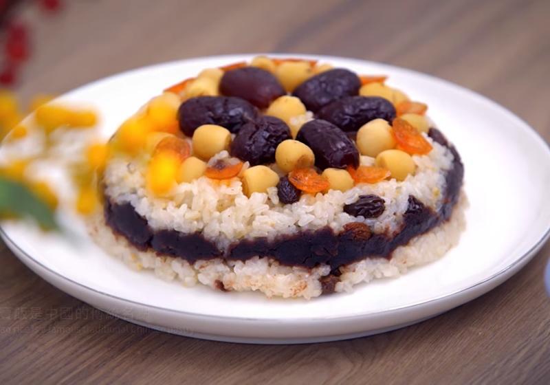 團圓必吃「紅豆八寶飯」!軟糯甜到心坎裡 (影音)