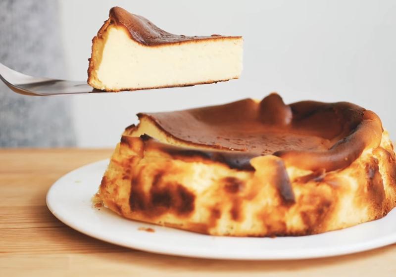 西班牙巴斯克起司蛋糕 (影音)