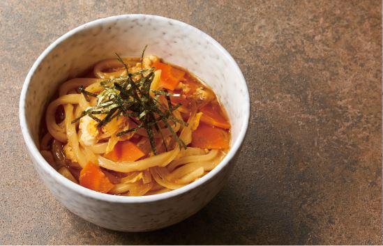 10分鐘上菜 | 蔬菜滿點的滑蛋烏龍麵