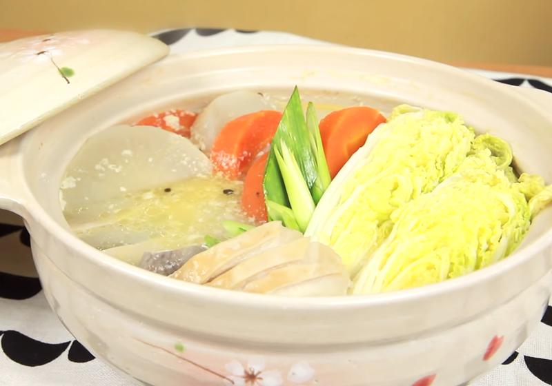 養生抗病   白胡椒豬肚蔬菜鍋 (影音)